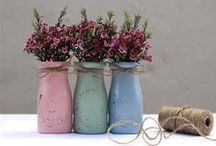 bouquets/vases