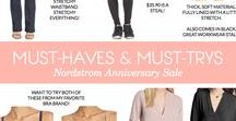 Women's Fall Staples - Nordstrom Anniversary Sale 2017 / Favorites from Nordstrom's Anniversary Sale.  Clicking on each item will take you to the product page for more info and so you can shop the item.