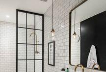 Łazienka Black&White / Łazienka czerni i bieli to styl ponadczasowy. Prosty, elegancki i niezawodny.