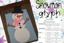 Winter Math - Snowmen
