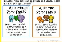 Fact Family Forms/Models
