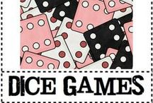 Card/Dice/Domino Math / by Tricia Stohr-Hunt