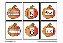 Holiday Math - Halloween/Pumpkins / This board contains themed math resources and activities for the Halloween seasons. Also includes all things pumpkin related.