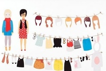 Paper Dolls / by softclothing