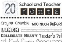 Fonts / by Tricia Stohr-Hunt