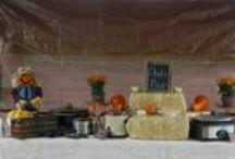 Fall theme party decor