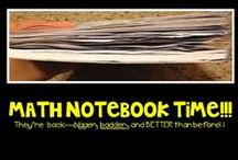 Math Notebooks / by Tricia Stohr-Hunt