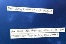 """Facebook Tips / Facebook the ultimate platform populated by many. Helpful tips to keep up with the ever changing rules. Keep growing with these tips to help your Fan Pages. """"Let's Learn Together!"""""""