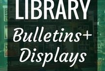 Library - Bulletins & Displays / Many school libraries have bulletin boards and display areas, but it can often be difficult to come up with ideas for decorating them.  Try out some of these awesome ideas and spruce up your space.