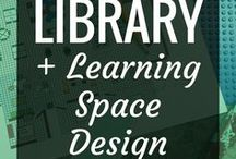Library & Learning Space Design Ideas / Amazing, beautiful & inspiring images of a variety of library and learning spaces.  Learning space design is a fantastic, growing field & there's plenty of ideas here on this board to inspire you to transform your learning space, whether it's a library, classroom, studio or even a room in your house.  Learn about how learning space design can impact your students & kids.
