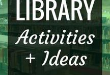 Library - Activities + Ideas / We all know that libraries are awesome.  This board focuses on all things library, including activities, programs, lessons, organization + other ideas.  Emphasis is on school libraries, but there's plenty in here for public libraries too.