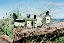 Wood Sage & Sea Salt / Escape the everyday along the windswept shore. Waves breaking white, the air fresh with sea salt and spray. Alive with the mineral scent of the rugged cliffs. Mingling with the woody earthiness of sage. Lively, spirited and totally joyful. #EnglishCoast / by Jo Malone London