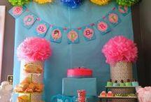 Birthda Spa Party / Girls Spa Birthday Party