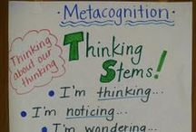 Metacognition/Thinking / by Tricia Stohr-Hunt
