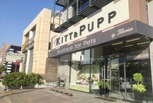 Our Pet Friendly place! / Visit our store to see what makes it irresistible for pet owners to come in... #KITT&PUPP #Boutique-for-Pets #Athens-Pet