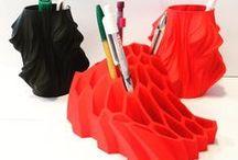 Les objets 3D autour du design / Les imprimantes 3D permettent la création de pièces infinies. On dit souvent que la seule limite à l'impression 3D est l'imagination. Alors, imaginons !
