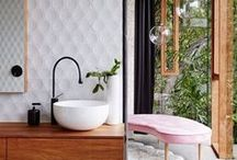 Bathroom Beauties / Bathrooms can be tricky to get right. This collection showcase a bunch of bathrooms that are truly beautiful.