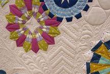 Dresden plate quilts