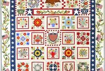 Baltimore Album Quilts / Vintage and modern quilts and blocks including patterns for hand applique