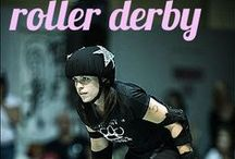 Derby Derby Derby! / Roller derby and all things related to skating, wftda, and derby girls.  / by Kirsten Oliphant