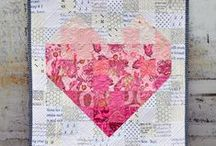 Hearts & Valentine quilts