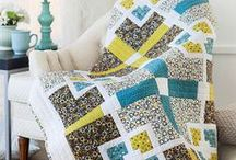 Simple quilts / Modern quilts that are easy to piece. Also see our Strip Quilts board.