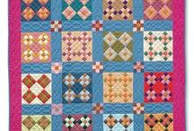 Nine-patch quilts / Also see our Blooming Nine Patch Quilts board