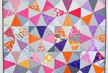 Kaleidoscope quilts / Also see our One Block Wonder Quilts board