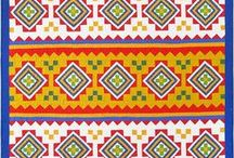Southwestern design quilts / includes Native American designs and themes