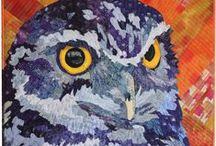 Bird Quilts / Birds of all kinds, plus beautiful feathers