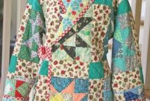 Patchwork clothing / Pieced, appliqued, embroidered and quilted clothing