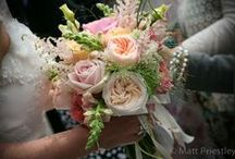 Emma and Marc's @ Wrenbury Hall / Wedding flowers by Emma Fawcett-Eustace / by Emma Fawcett-Eustace Flowers