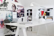 Attic office / I want my attic to become my office, painting work space and guestroom all in one.
