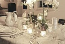 My favorite...Tablescapes / The art of setting a table