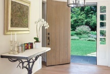 My favorite...entry way and hallways / Entries, halls. spaces that make a statement