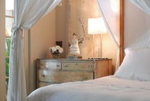 My favorite...bedrooms / Beds, canopy beds, upholstered beds, bedrooms