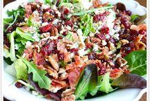 Salads / ~Crisp, cold, leafy, green goodness~
