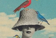 ♡ paper art ♡ / paper art & collage (papiers découpés) / by slℯℯkitty