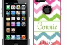 Personalized Otterbox iPhone Cases / Pre-Order your iPhone 5 Otterbox Case or pick up one of our trendy designs for your iPhone 4! / by Carolina Clover