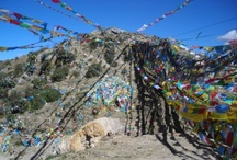 Wanderlust...Tibet / I trekked through Tibet from Llasa to Everest base camp. The extraordinary landscapes, the magnificent Mount everest, the beauty of the few left monasteries and ancient architecture are overwhelming. The distressed poverty of its people is heartbreaking.