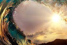 Surf / surf. surfing, sunsets, beach, photography, aquabumps, bondi, social, california, fiji, san clemente, trestles / by Su Sun