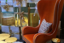 Interieurs upholstery collection / A curated collection of sofas, chaises and daybeds, chairs, armchairs and footstools, upholstered beds, designed by Francine Gardner, made by hand in the highly quality, customizable to your specifications