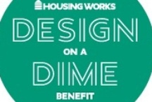 Housing Works Design on Dime / Inspirations and products gathered for Interieurs Design Studio first Design on a Dime vignette to benefit Housing Works.Our take....Bohemian Chic
