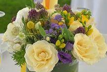My favorite...flower arrangements / Weddings, flower arrangements, wedding centerpiece,wedding tables, fall, spring, summer, winter