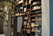 My favorite...etageres, shelving,bookcases