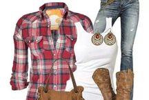 Western wear / ~ calgary stampede (greatest outdoor show on earth) ~