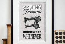 SEWING / by Lucia Wilke