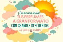 PROMOCIONES / Desde aquí estarás al día de todas las promociones que ofrecemos en Perfumes Rioja.