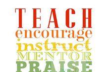 Teaching / ~wish I was a teacher stuff~