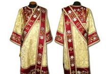 Deacon's and Ponomar's vestments / Orthodox vestments. Good quality. Many colors. Individual sewing Free shipping worldwide